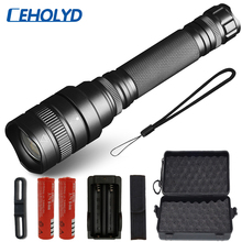 CREE XLamp XHP70.2 XHP50 5000LM powerful Led flashlight Ultra Bright torch light 5 switch Mode Zoomable Light 18650 battery