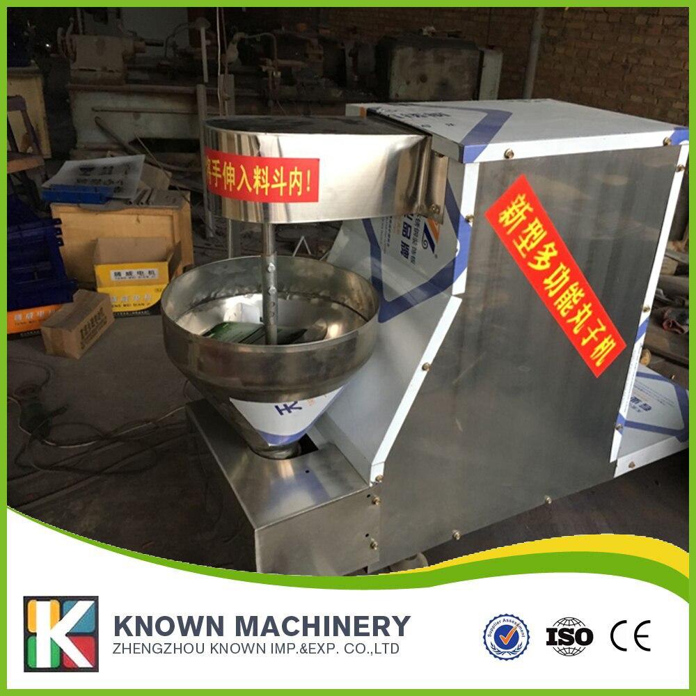 Adaptez le type 5 cm moules boule de poisson faisant la machine fabricant de boulettes de viande approprié à la taille de 3.5 cm, de 4 cm, de 4.5 cm
