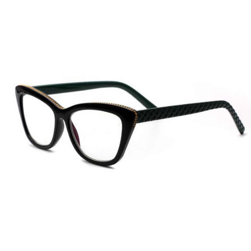 6ce146319d Bifocal reading glasses Cat eye glasses New double glasses presbyopia men  and women spectacles Inlaid beads