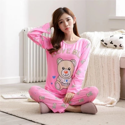 Sleeved pyjamas Women nightwear 5