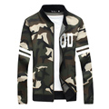 Men Autumn Spring Camouflage Jacket Fashion Casual Loose Mens Jacket Bomber Jacket Mens Print jackets Coats Plus Size 4XL 5XL