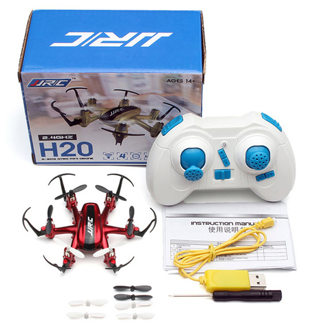 Original JJRC H20 Mini RC Drone Dron Micro Quadcopters Professional Drones 3D Tumbling Flying Helicopter Toys Gifts for Kids