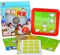 Кэндис го! пластиковые игрушки-головоломки, игры курица матч яйцо Интеллект квадрат двигаться логического мышления доска ребенка подарок на день рождения 1 шт.