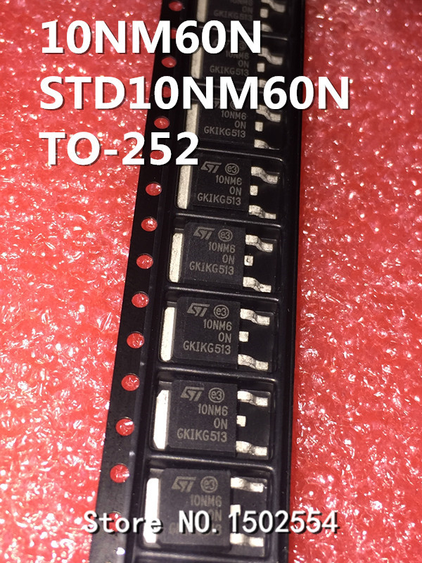 ST D10NM60N Transistor STD10NM60N