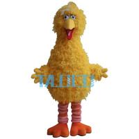 Meilleur big bird de sesame street mascot costume fancy dress taille adulte livraison gratuite