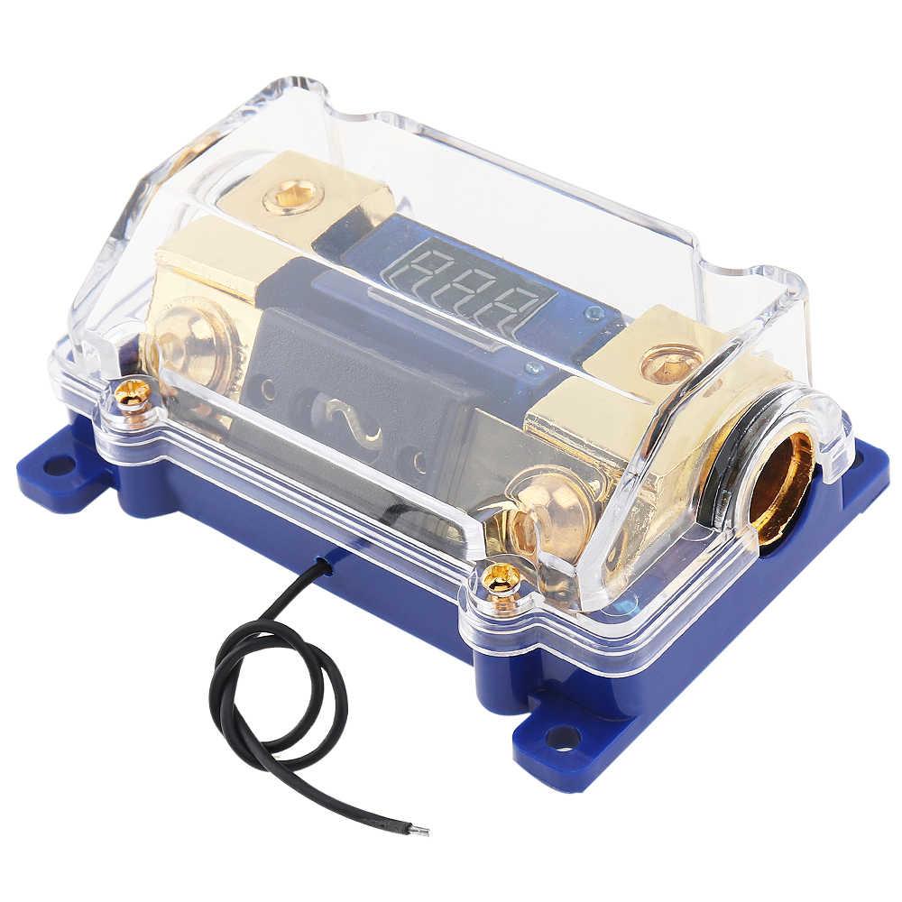 power fuse box universal 100a car audio power fuse box holder block with led power fuse box home car audio power fuse box holder