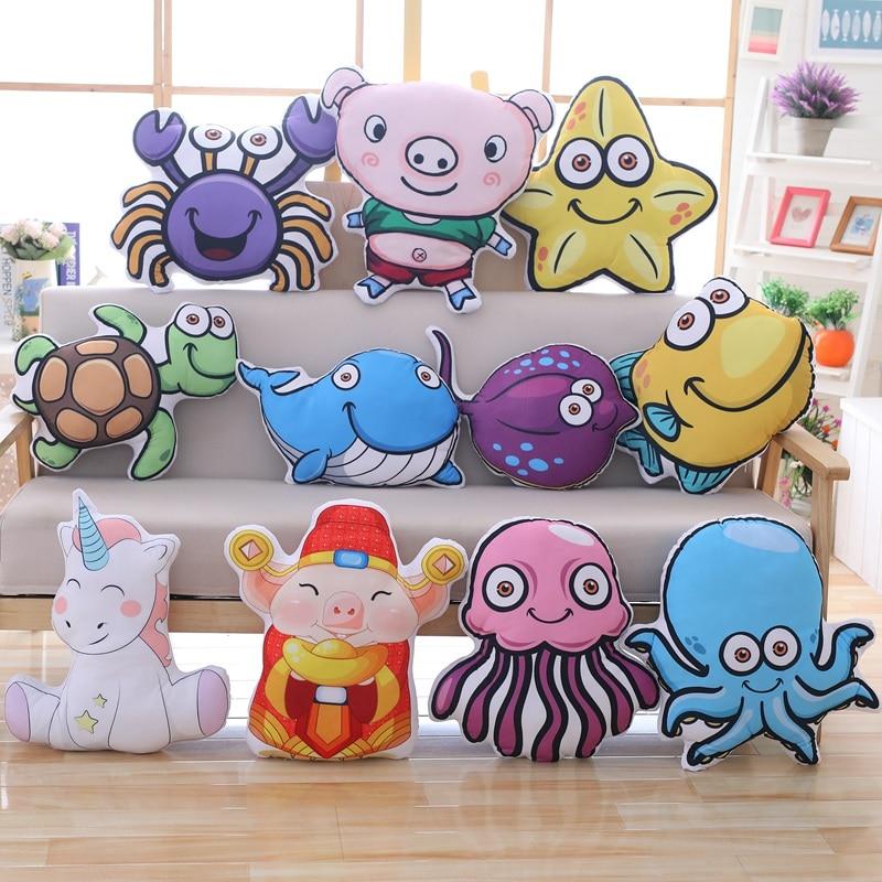 Stofftiere & Plüsch Elektronische Plüschtiere Narwhal Spielzeug Unicornio Plüsch Aquatic Aniamal Spielzeug Weiche Angefüllte Einhorn Horn Whale Werfen Kissen Baby Puppe Fisch Spielzeug Für Kinder