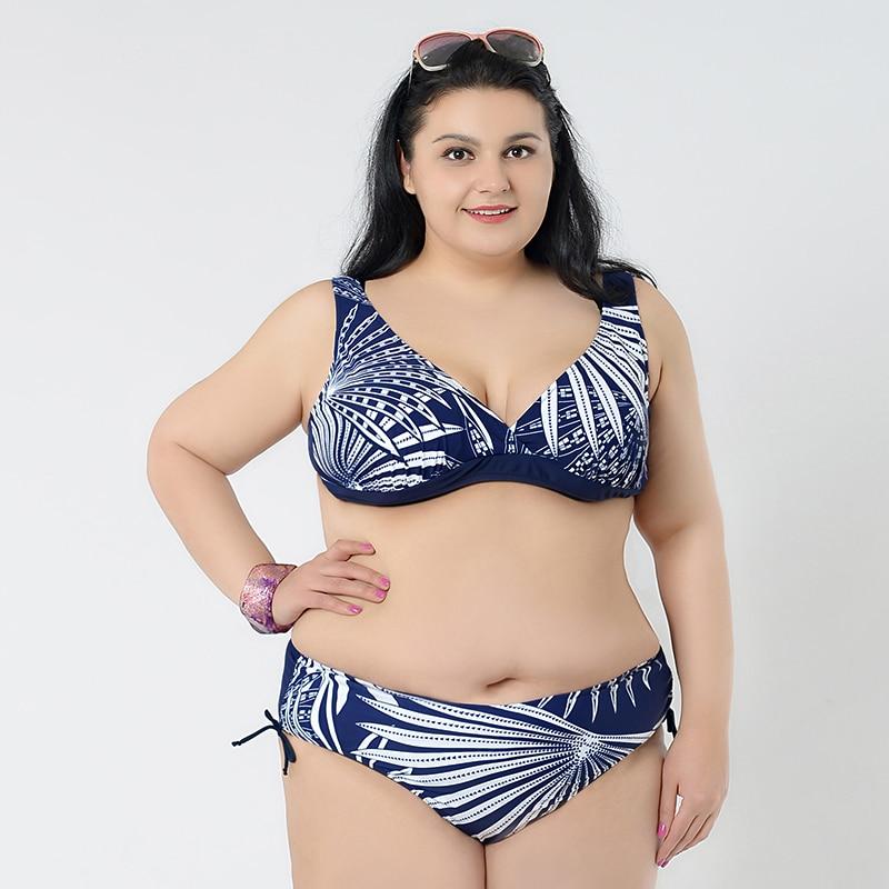 Busty women in bikinis