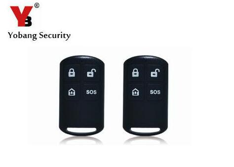 Yobang Security Wireless Remote Controller Arm/disarm SOS Button with Battery For WIFI GSM Alarm Host smartyiba 433mhz black remote controller arm disarm sos button wireless plastic remote controller for yb103 yb104 alarm system