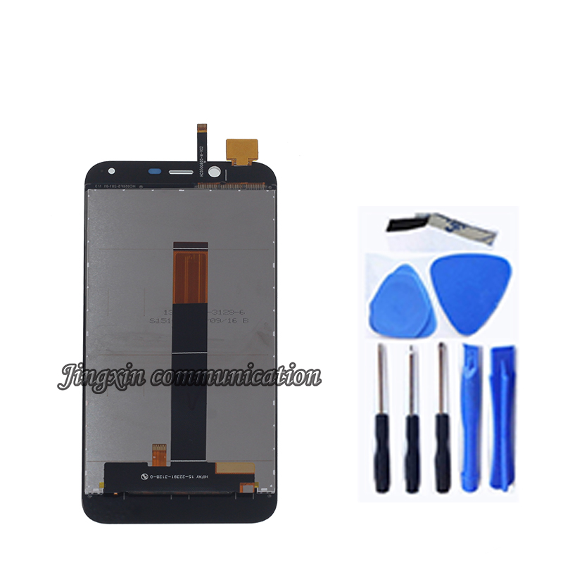 Image 2 - 100% New 5.0'' For Cubot Magic LCD display + touch screen digitizer component replacement with cubot magic glass components-in Mobile Phone LCD Screens from Cellphones & Telecommunications