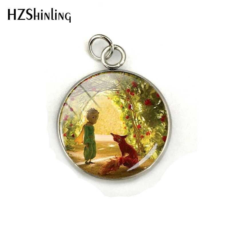 Новая мода Лидер продаж маленькие принцы Знак Кристалл стекло кулон ювелирные изделия для мужчин Дамская мода талисманы подарки аксессуары