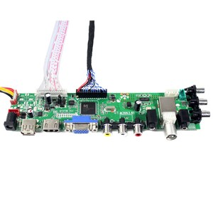Image 4 - HDMI VGA AV USB ATV DTV LCD drive Board Work for M215HW01  M215HW03  HM215WU1 LM215WF1  LM230WF1  LTM230HT01   MT230DW01