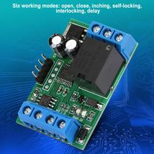 Relay Module 12V 1 Channel Relay Module RS485 RTU Serial Port Multi-function Relay Module PLC Controller new original rtu dnet plc devicenet remote i o module