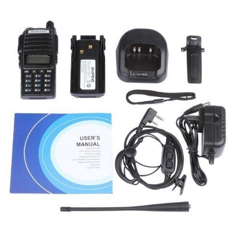BAOFENG UV-82 VHF UHF Dual Band 136-174 / 400-520 2-PTT dvosmjerni - Voki-toki - Foto 6
