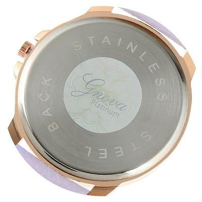 ᑐGnova Platinum Menonton Kayu Kecil wrist wanita panggilan Besar ... 652926a34a