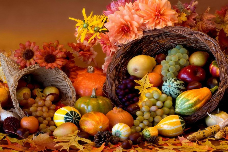 Fall Scenes Wallpaper With Pumpkins Automne R 233 Colte L 233 Gumes Fruits V Alimentaire Affiche Fabr