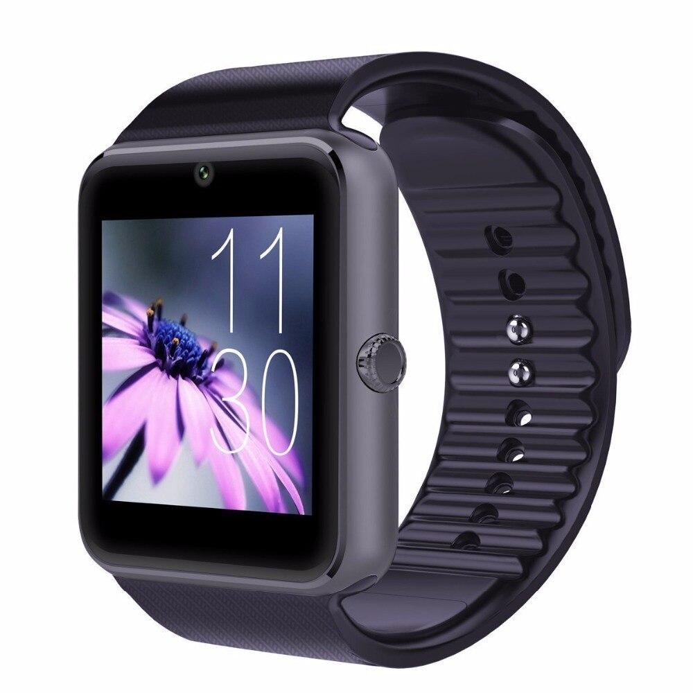 Bluetooth Montres Intelligentes téléphone gt08 avec Caméra Smartwatch intelligent wacht hombre mujer smartwach pour android relogio inteligente