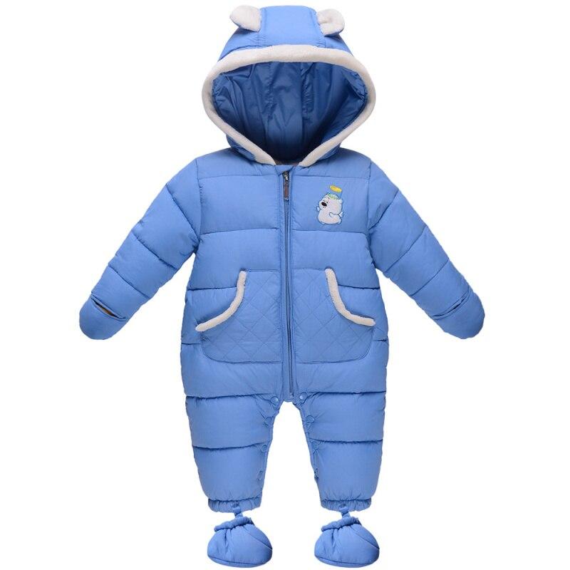 837abc0b8ac3 2015 cute new infant newborn snowsuit ropa bebe baby romper winter ...
