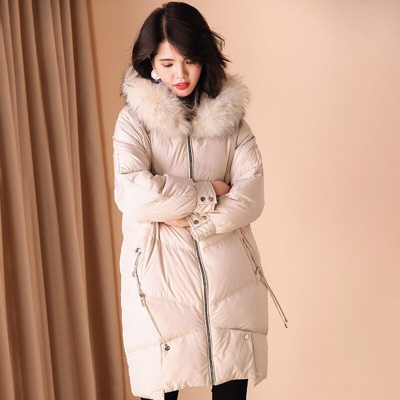 lunga Indumento Riscaldamento Piuma Inverno Cotone Allentato