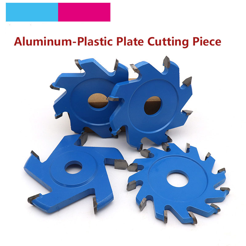 1pcs 95mm V/U Type Tray Saw Blade 20mm Aperture Aluminum Composite Plate PVC Wood Cutting Disc Angle Grinder Tray Blade