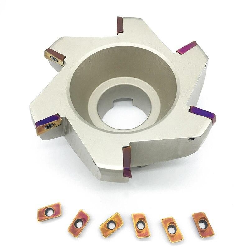 RAP400R 125 40 Pocket Cutting Pocket Cutter Insertion APMT1604 Sloot Plung Shoulder Copy Milling RAP 400R 400R-125-40