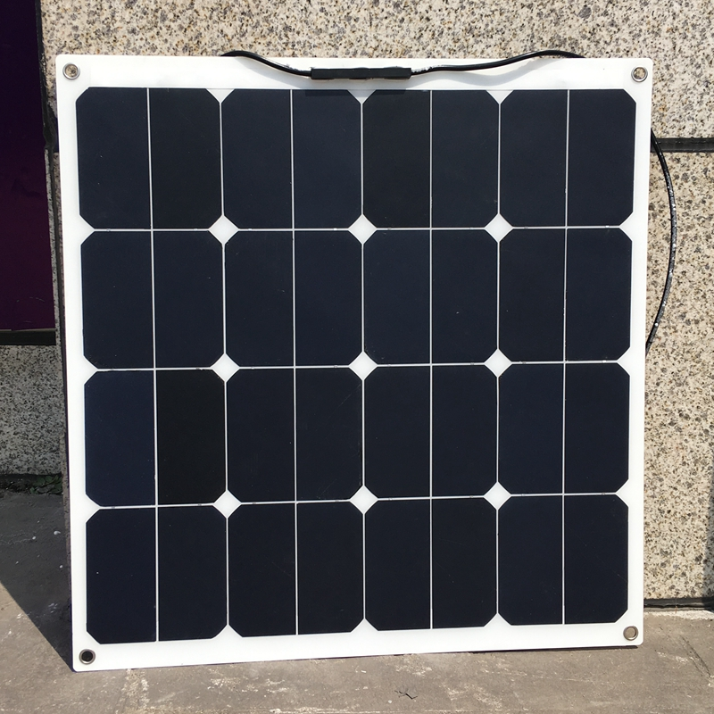 Sunpower 18 В в Вт 50 Вт гибкие модули солнечных панелей для Рыбалка Лодка Автомобиль RV В 12 Батарея высокая эффективность Вт чное зарядное устройс...
