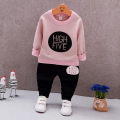 Baby Girsl Clothes 2017 Spring Baby Clothing Sets Cartoon Printing Sweatshirts+Casual Pants 2Pcs for Baby Clothes