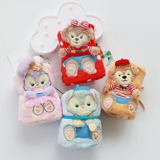 1aed9bb36cba Duffy ShellieMay StellaLou 4 estilo Bonito Cobertor Rodada Esteira do Jogo  Dos Desenhos Animados Recém nascidos de Algodão Macio para o bebê presente  ...