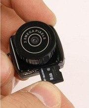 Espía Mini Cámara Y2000 720 P HD Cámara De Vídeo Grabadora de Voz Micro Cam Camara Digital Oculta Mini Cámara Más Pequeña