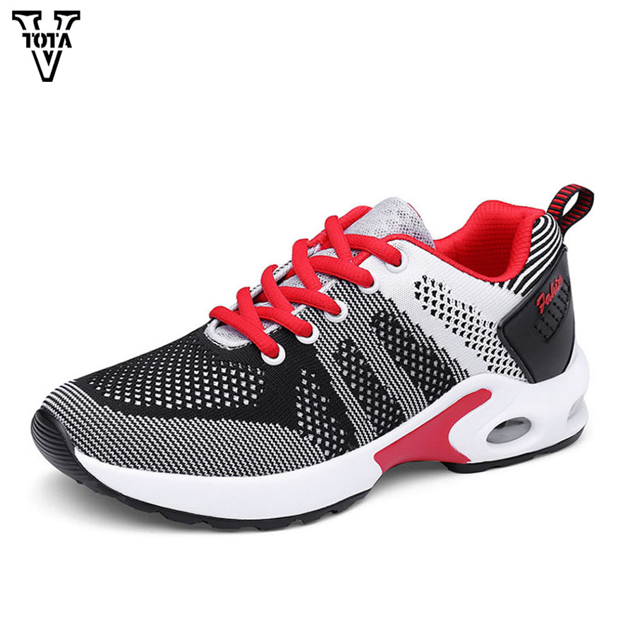 VTOTA 2018 Women Shoes Casual Air Mesh Sneakers Breathable Shoes Woman Slip On Light Tenis Walking Shoes Zapatos Mujer QJ sweet women high quality bowtie pointed toe flock flat shoes women casual summer ladies slip on casual zapatos mujer bt123