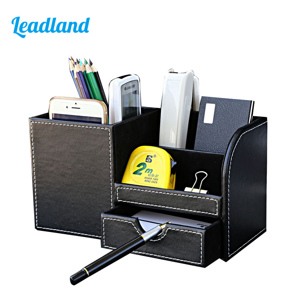 11 Color Options Colorful Multi Function Desktop Pen Box Stationery Organizer Storage Box For 2014 New Style Design 1306