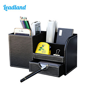 Image 1 - Multi function Desk Stationery Organizer Pen Holder Pens Stand Pencil Organizer for Desk Office Accessories Supplies Stationery