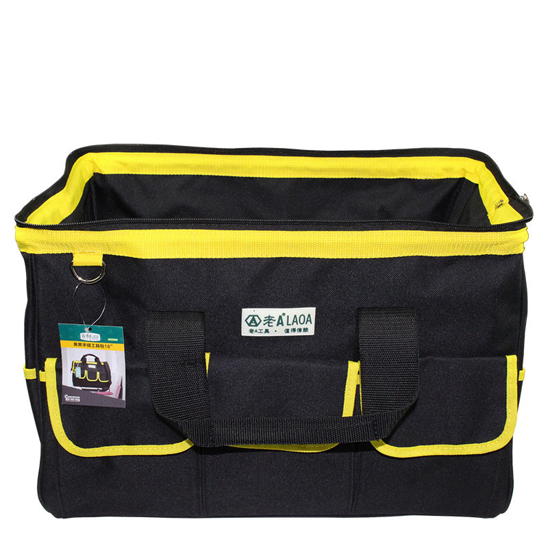 1 vnt LAOA 600D įrankių krepšys Elektrikas Didelės talpos remonto - Įrankių laikymas - Nuotrauka 6