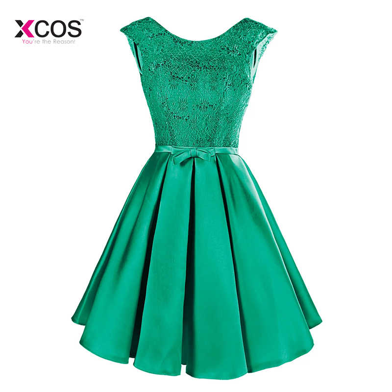 3eae30ba61e ... Women Short Cocktail Dresses Cap Sleeve Knee Length Puffy Skirt Semi  Formal Gown Party Banquet Dress