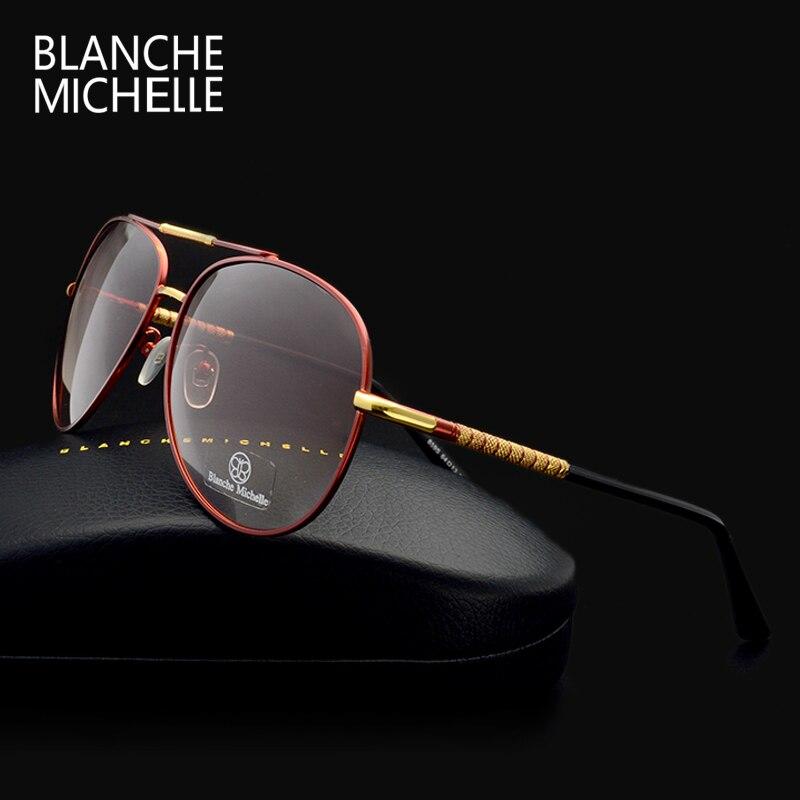 Luxe lunettes de soleil polarisées hommes UV400 marque designer 2018 de haute qualité de pêche lunettes de soleil gradient Conduite oculos avec la boîte