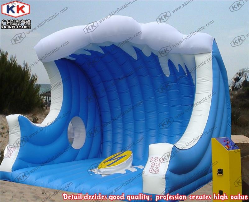Пользовательские надувной детский надувной серфинга ездить электрические серфинга ездить игр