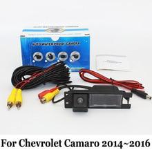 HD Широкоугольный Объектив Камера Заднего вида Для Chevrolet Camaro 2014 ~ 2016/RCA Проводной Или Беспроводной CCD Ночного Видения Влагозащищенные Камеры