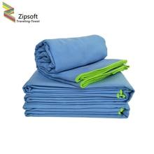 Zipsoft Брендовые спортивные полотенце банное ткани из микрофибры для пляжа одеяло на Counch 75×135 см Туризм Отдых плавание путешествия