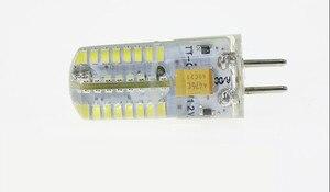 Image 2 - 10PCS/LOT LED GU5.3 12V LED G5.3 12V 3014 64SMD LED GU5.3 AC12V LED G5.3 DC12V crystal Light chandelier Spotlight bulb