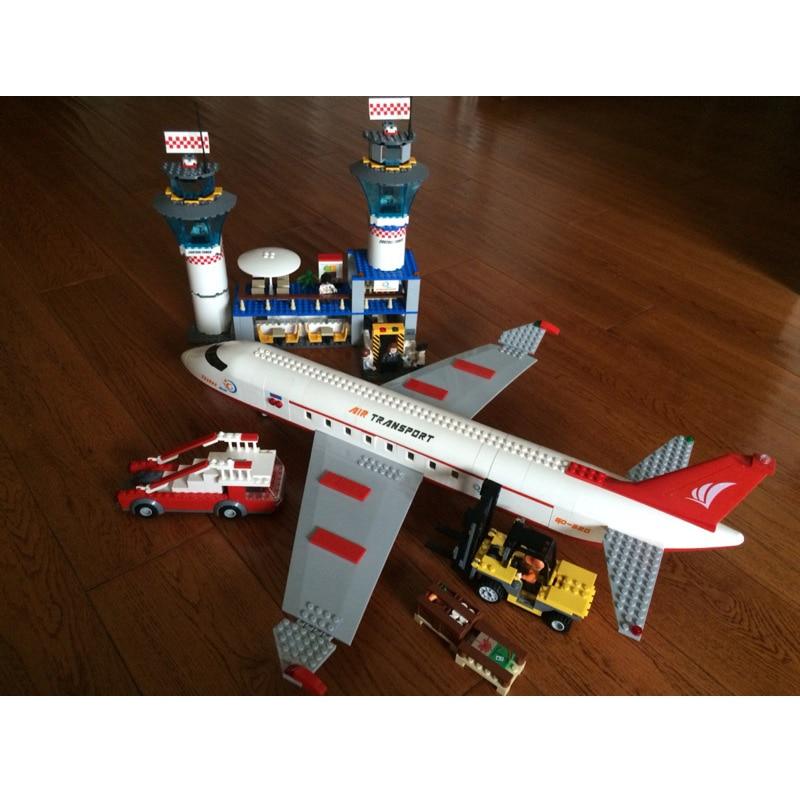 GUDI Block Grad Veliki Putnički Plan Zrakoplov Sklop Sklop - Izgradnja igračke - Foto 4