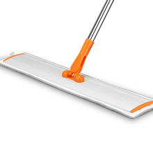 Flat mop High quality aluminum alloy  floor cleaning tool Stainless steel rod