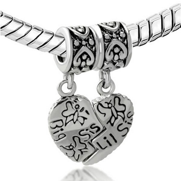 pandora charms for a sister