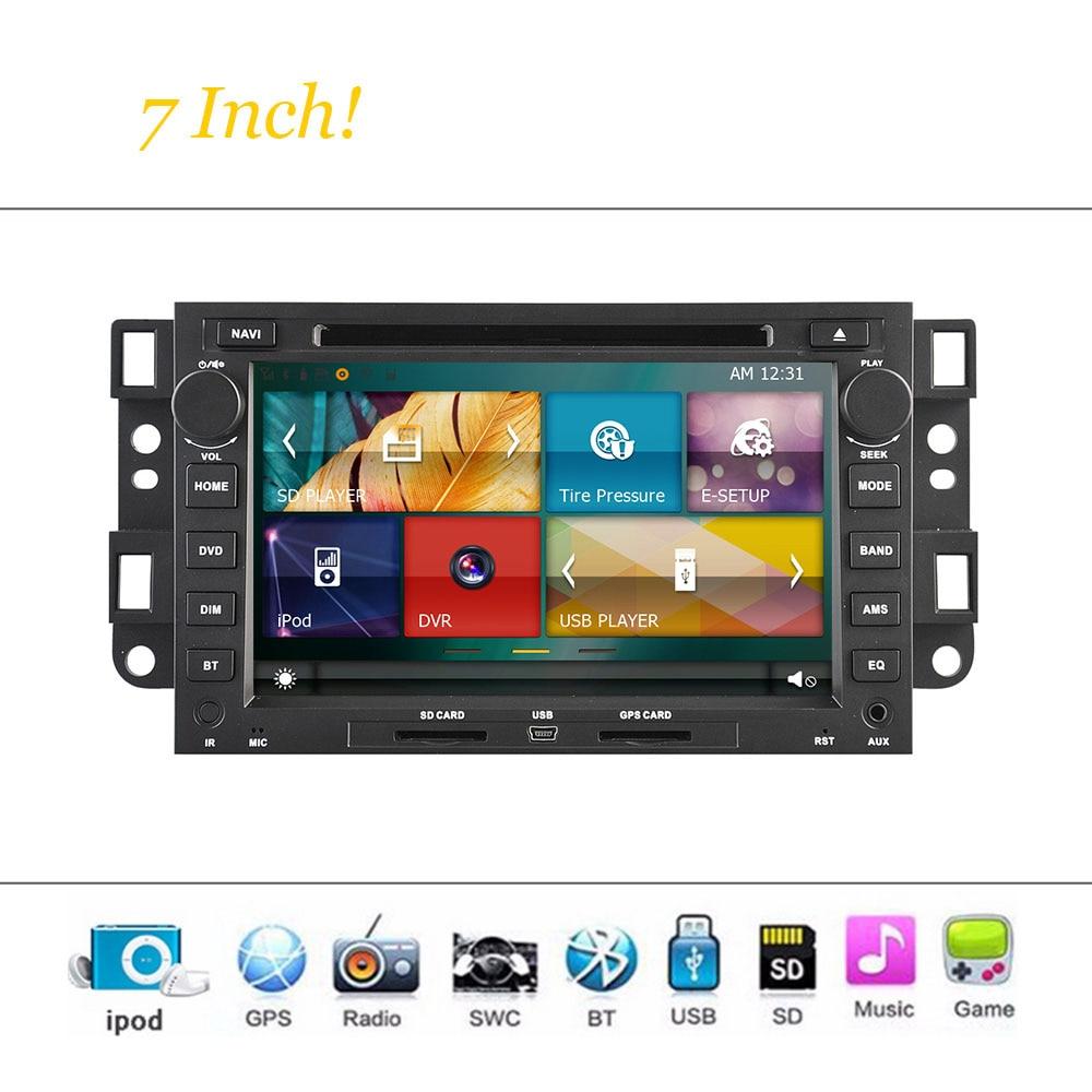 Wince Sistema de coches Reproductor de DVD Para Chevrolet Epica/Captiva Autoradi