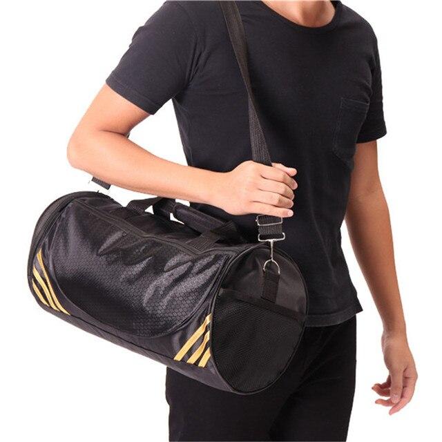4a411100 Новое поступление многофункциональный Портативный плечо спортивная сумка GYM  рюкзак разделены Обувь хранения Фитнес Сумки Для мужчин