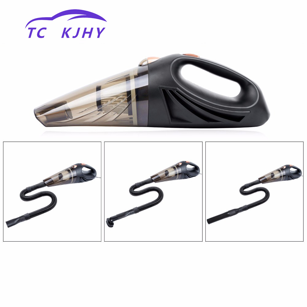 2018 Auto Car Vacuum Cleaner DC 12 Volt 120W Handbag 4.8 Cyclonic Wet / Dry with Auto Portable Vacuums Cleaner Dust Clean