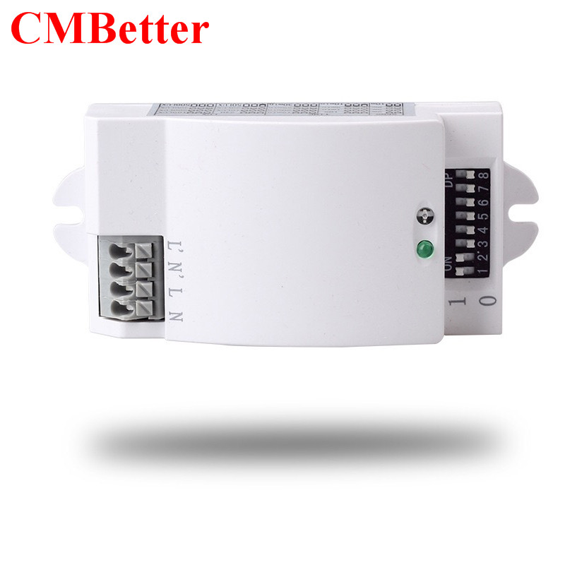 220V Microwave Radar Sensor Inductive Light Switch PIR Occupancy Body Motion Sensing Detector 1200W For lamps 220v microwave radar sensor inductive light switch pir occupancy body motion sensing detector 1200w for lamps