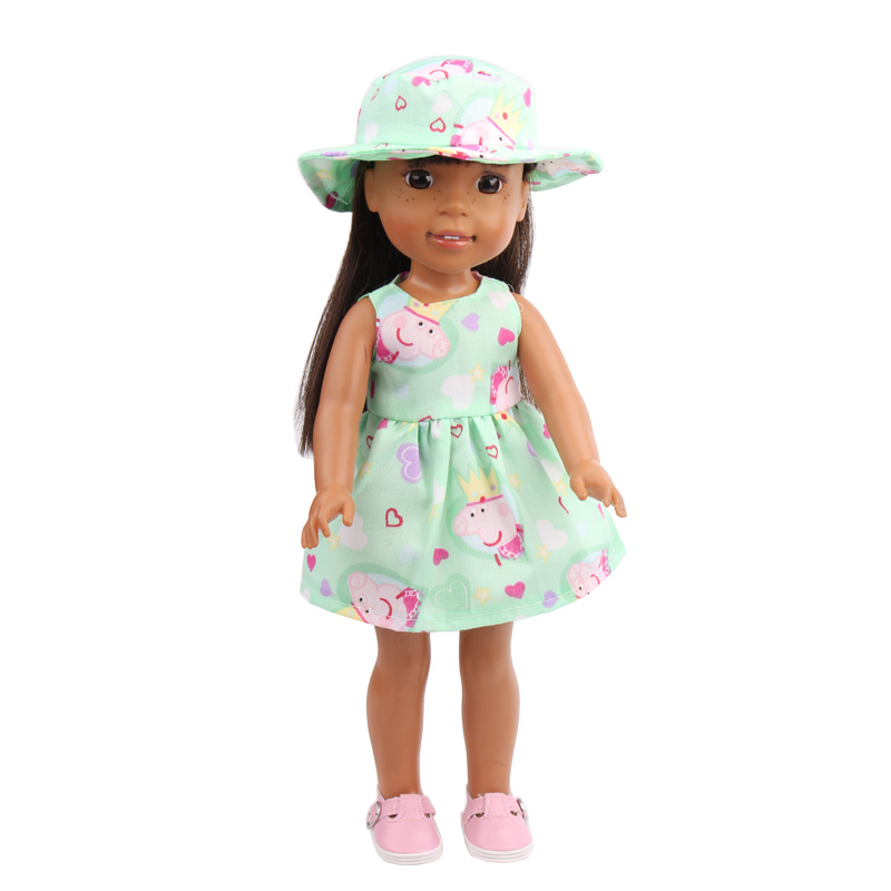 Doll dresses fit the 14.5-inch 's doll dress children s toys accessories children's holiday gifts x17-x20
