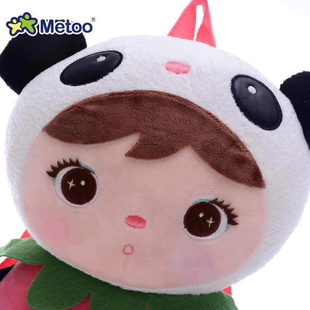 Панда животные мультфильм сумки Дети кукла плюшевый рюкзак-игрушка детская сумка на плечо для детского сада ангел кролик девочка рюкзак Metoo