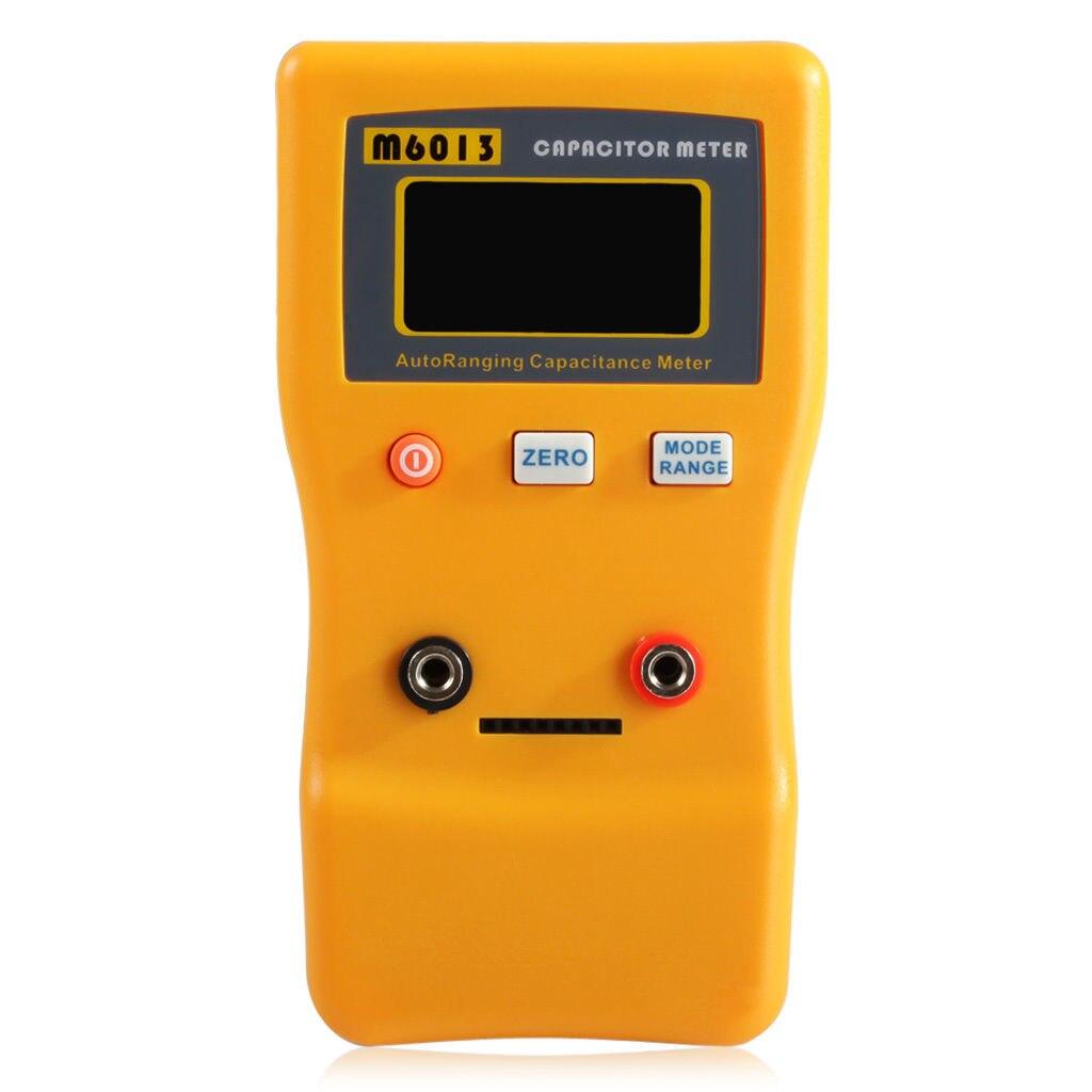 New M6013 Auto Range Digital Capacitor Capacitance Tester Meter 0.01pF to 470mF  цены