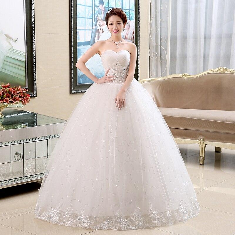 Free shipping 2017 cheap price under 50 wedding dresses design ...